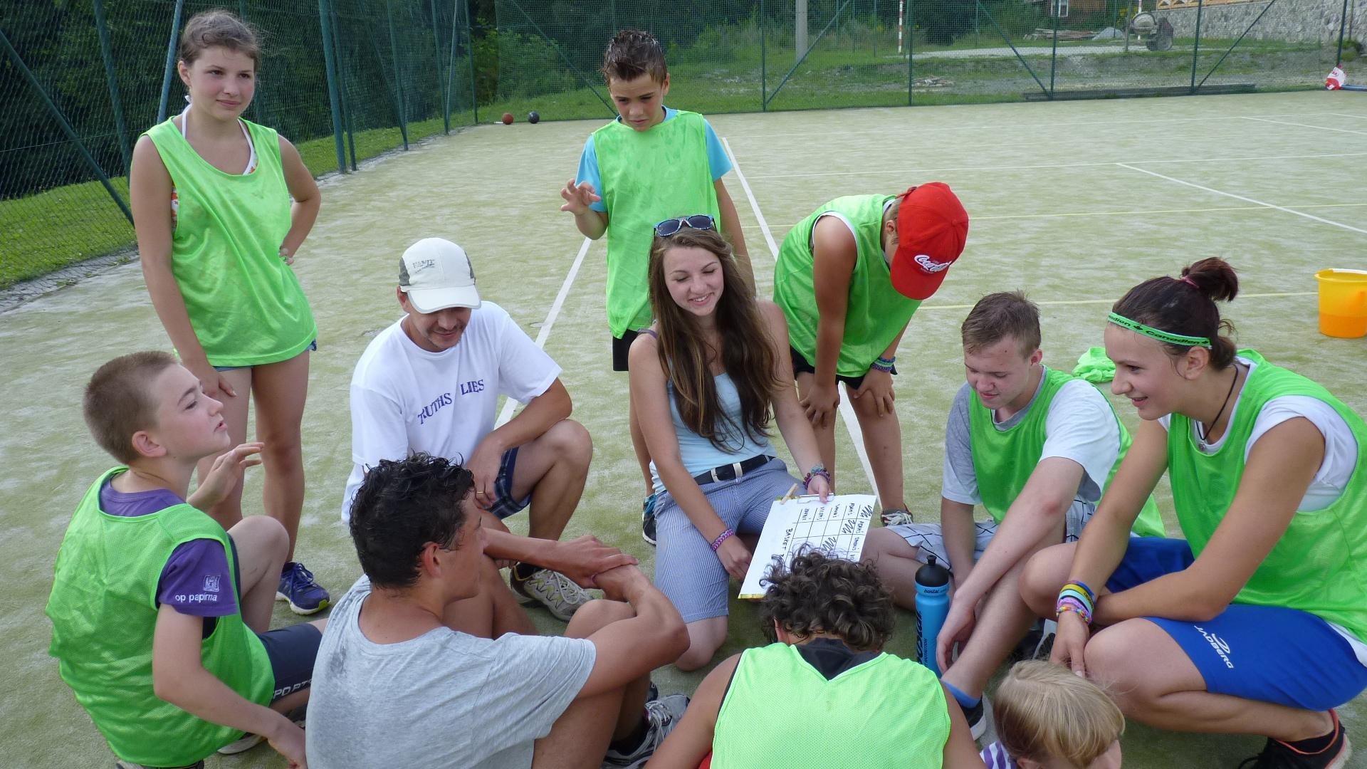 Fotogalerie Sport Camp 2014